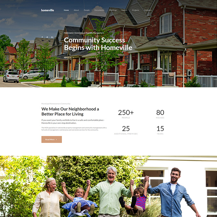 Home and Real Estate Responsive Web Design