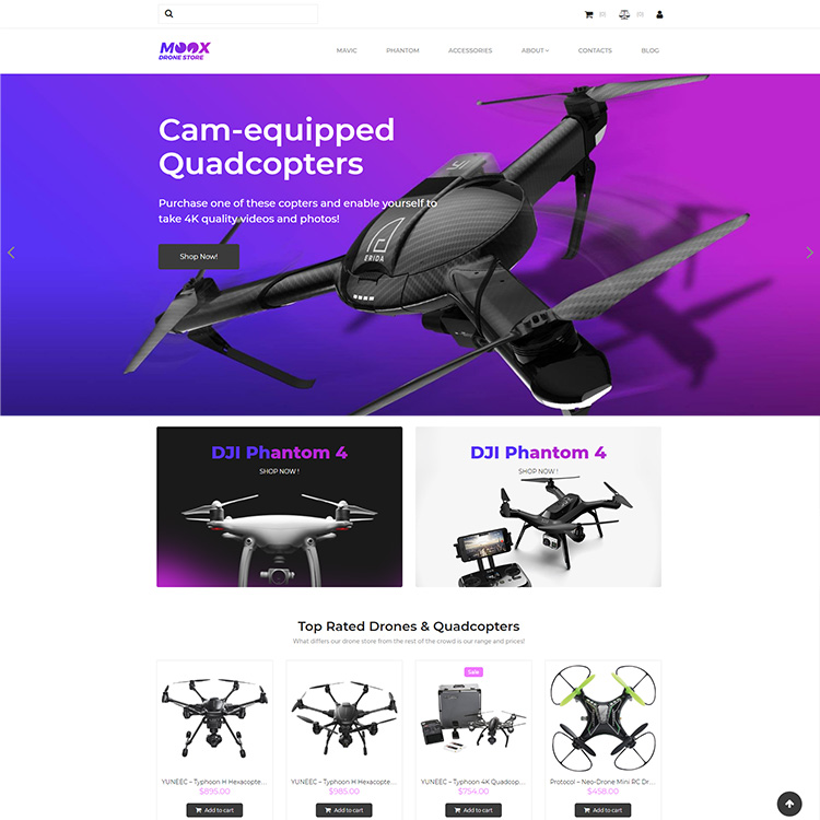 Electronics E-commerce Responsive Website Design