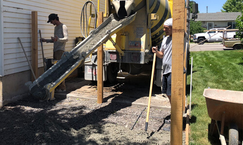 Busy Bee Concrete for Small Construction Projects