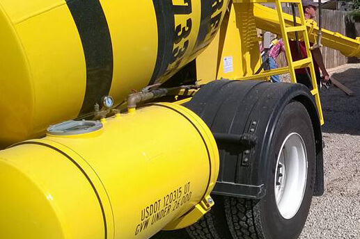 Busy Bee Concrete Truck Hot Water Tank